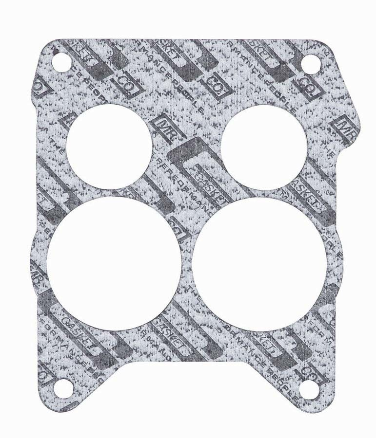 Mr Gasket 56C Carburetor Base Plate Gasket, 4-Barrel, Open, Composite, Spread Bore, Each