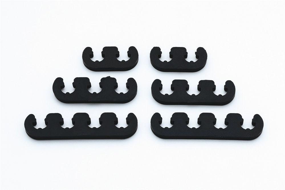 Mr Gasket 9728 Spark Plug Wire Loom, 7-8 mm, Plastic, Black, Universal, Kit