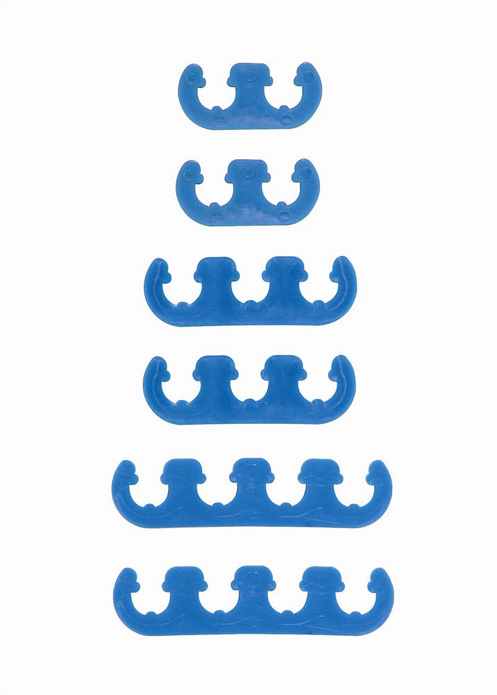 Mr Gasket 9877 Spark Plug Wire Loom, 7-8 mm, Plastic, Blue, Universal, Kit