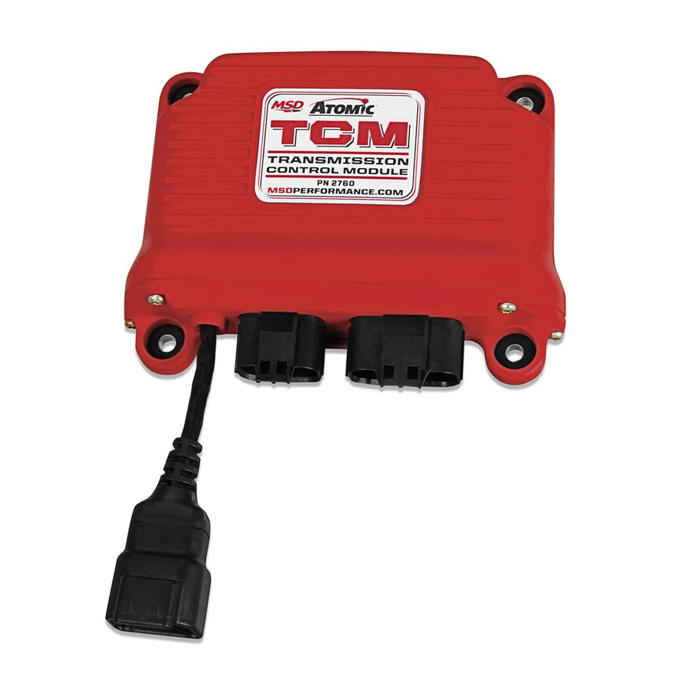 MSD Ignition 2760 Transmission Controller, MSD Atomic, Digital Display, Programmable, 4L60E / 4L65E / 4L70E / 4L75E / 4L80E / 4L85E / E40D / 4R70W / 4R100 / AODE, Kit