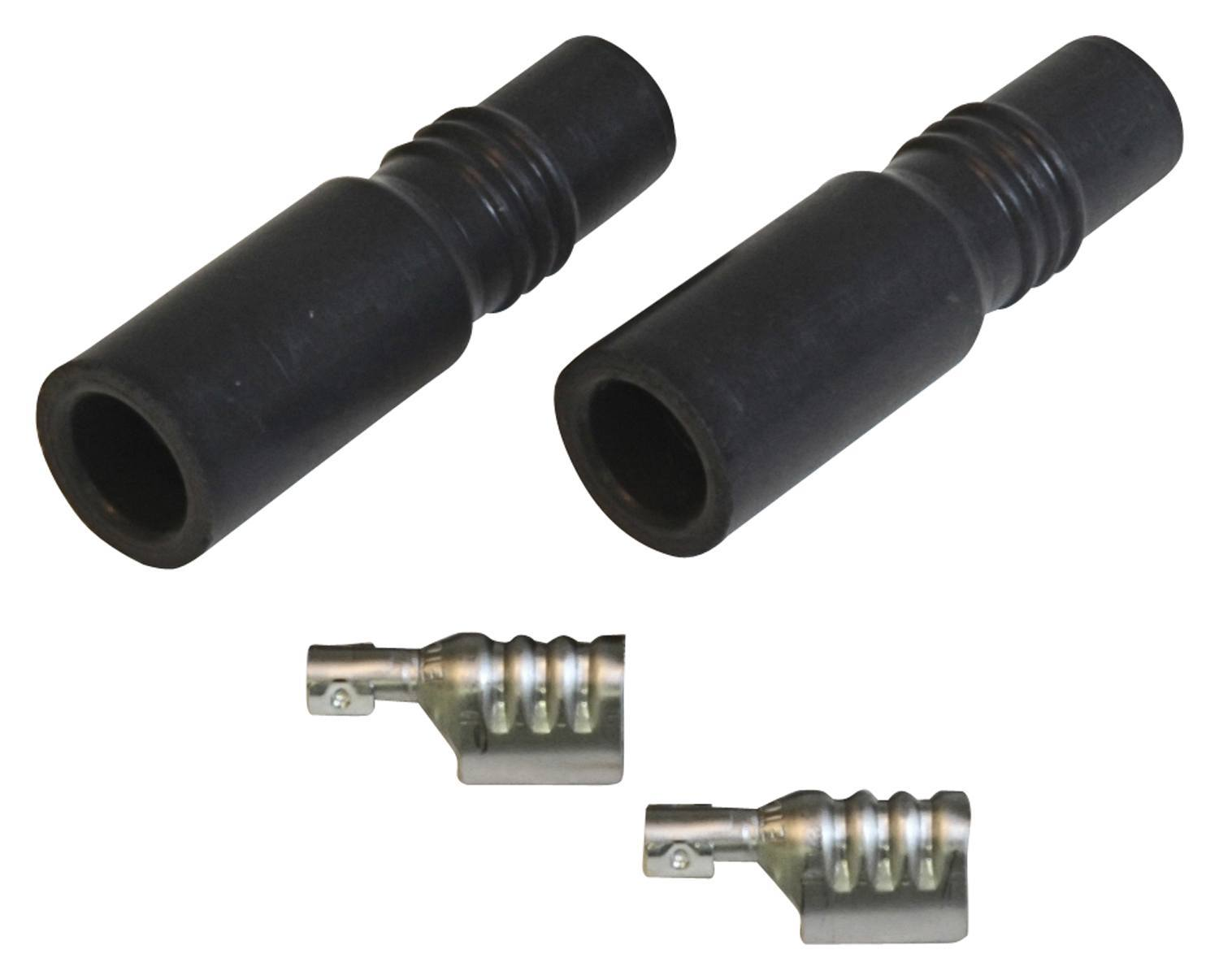 Straight Plug Boots & Terminals - LT1 2-Pack