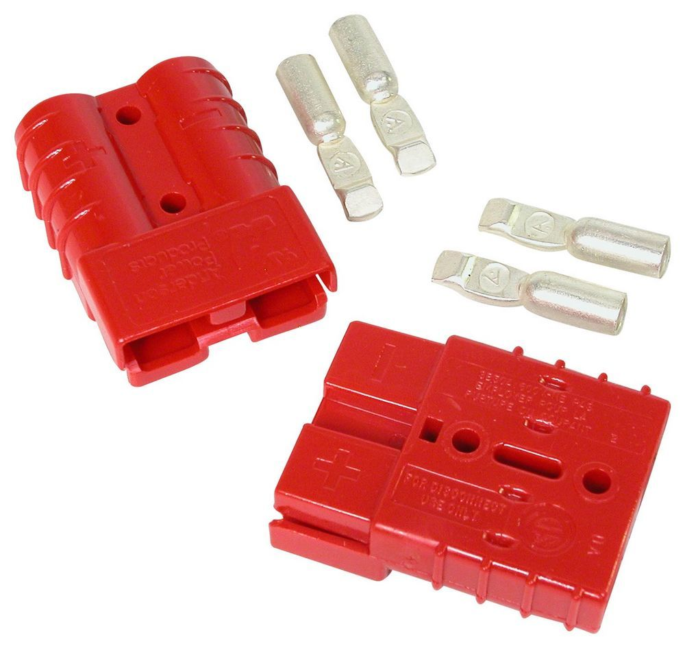 """Quickcar Racing Products 57-701 Remote Battery Terminal Brass Red 1-1//4/"""" Dia"""