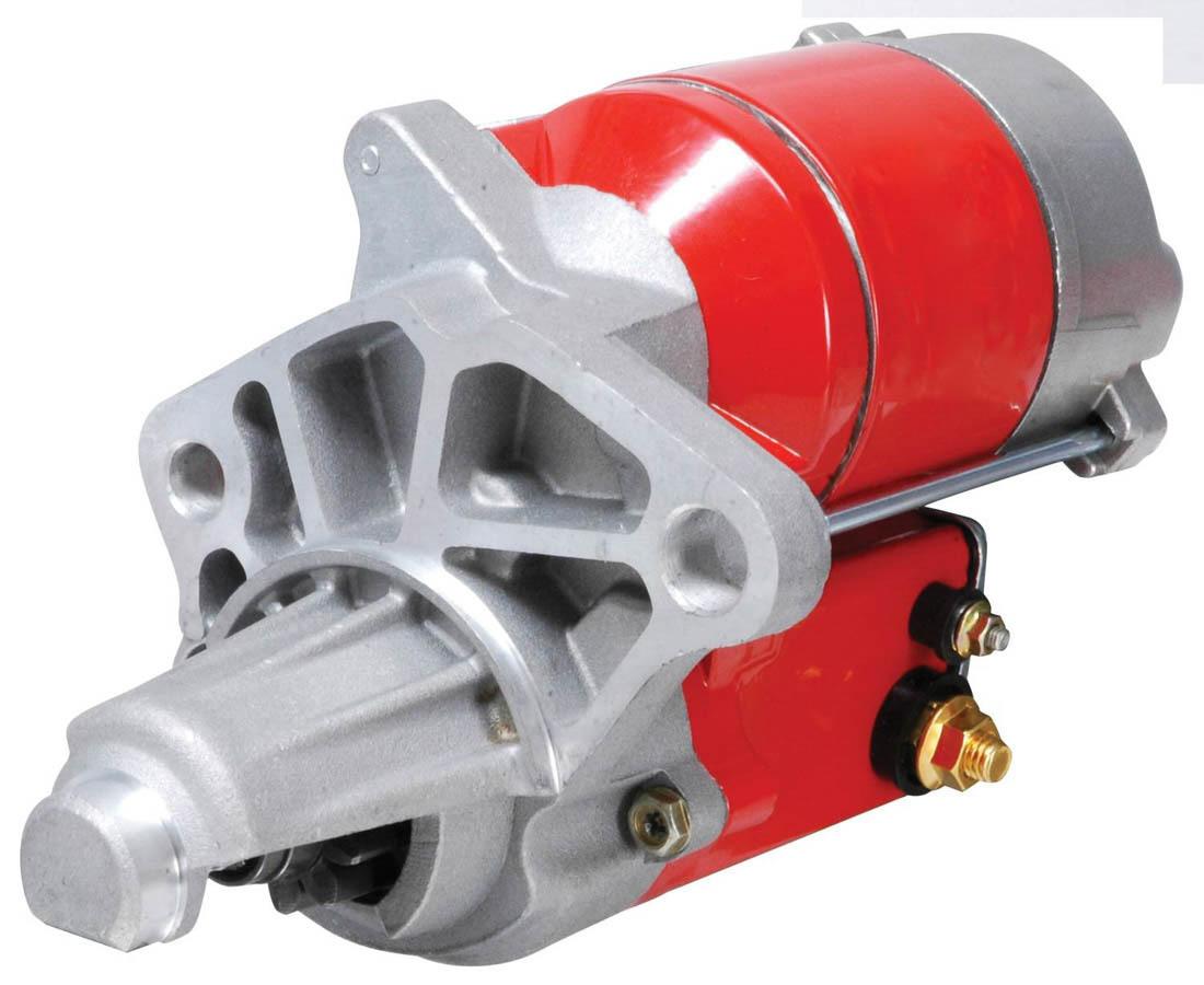 MSD Ignition 5098 Starter, DynaForce, 4.4:1 Gear Reduction, Red, Mopar V8, Each