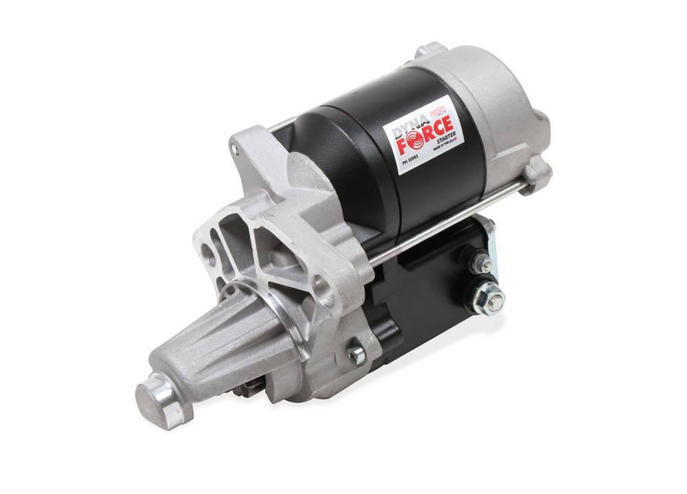 MSD Ignition 50983 Starter, DynaForce High Speed, 4.4:1 Gear Reduction, Black, Mopar V8, Each