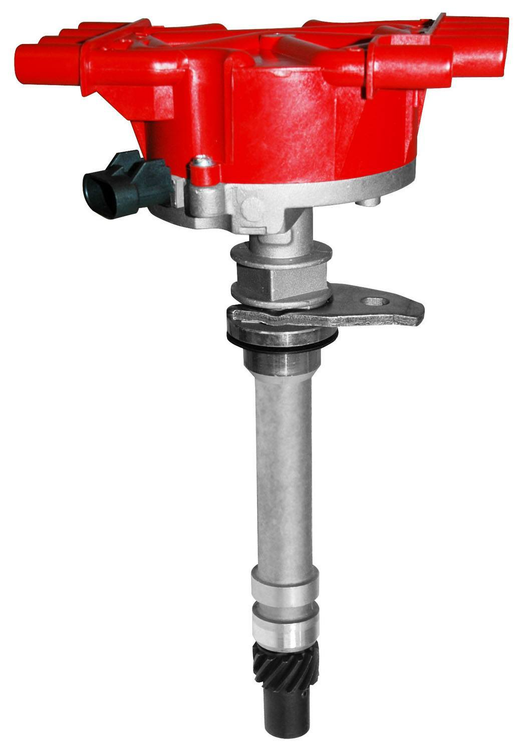 MSD Ignition 5592 Distributor, Street Fire GM EFI, Magnetic Pickup, Electronic Advance, Socket Style, Red, Small Block Chevy, Each