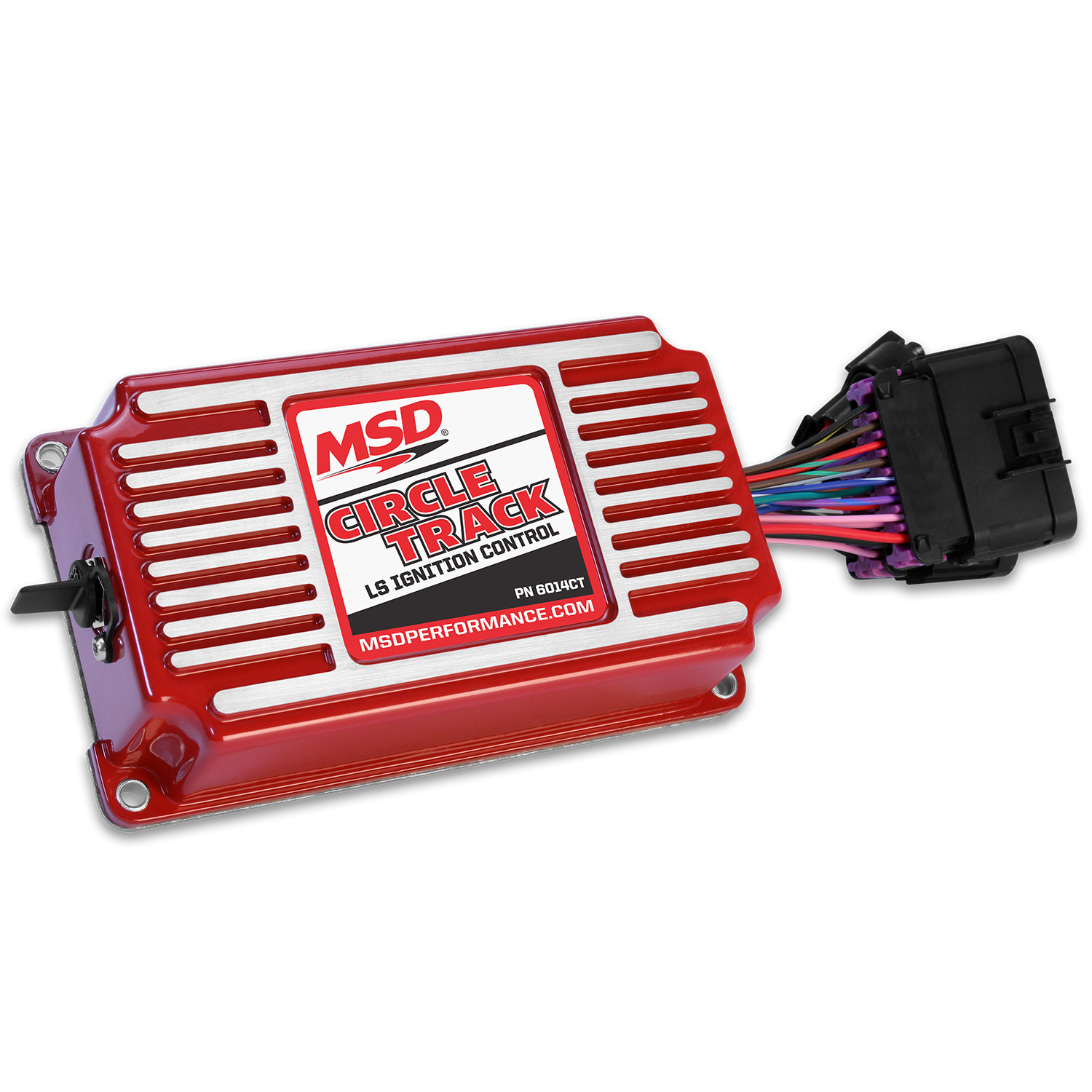 MSD Ignition 6014CT Ignition Controller, Circle Track, Digital, Programmable, GM LS-Series, Each