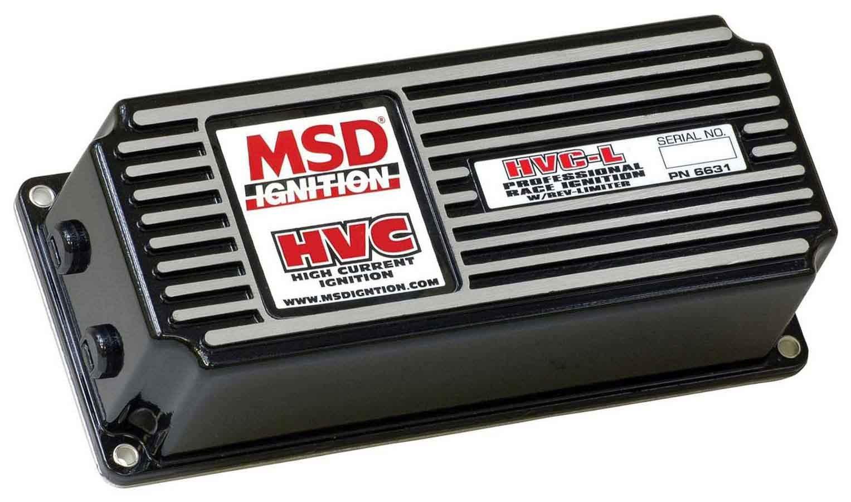 MSD Ignition 6631 Ignition Box, 6 HVC, Analog, CD Ignition, Multi-Spark, 40000V, Rev Limiter, Deutsch Connectors, Each