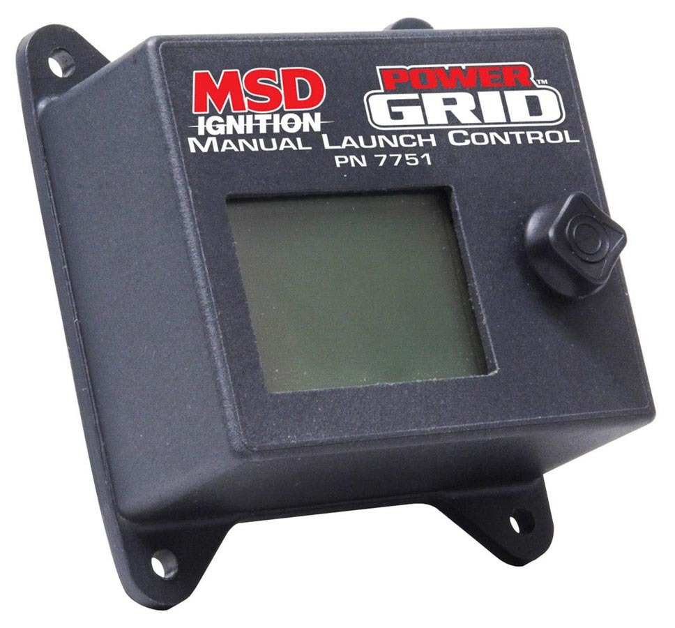 MSD Ignition 7751 Ignition Control Module, Power Grid Module, Manual Launch Control, 2-Step Rev Limiter, Each
