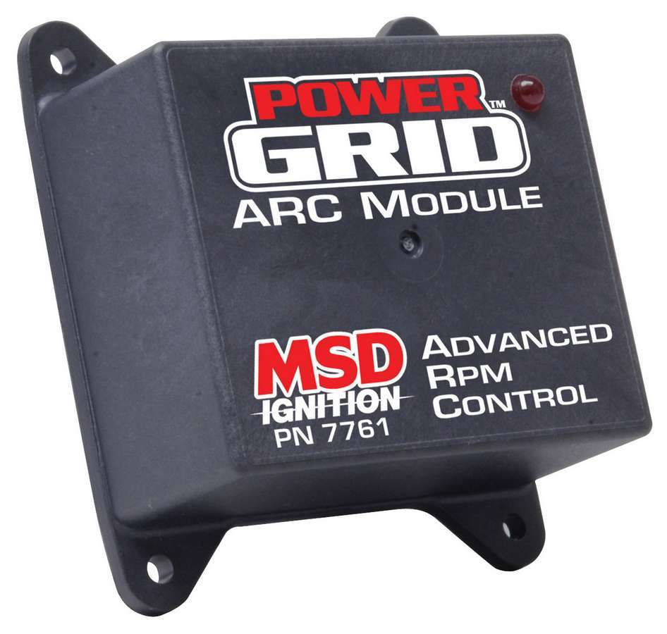 MSD Ignition 7761 Ignition Control Module, Power Grid Module, Advance RPM Control Module, Rev Limiter, Each