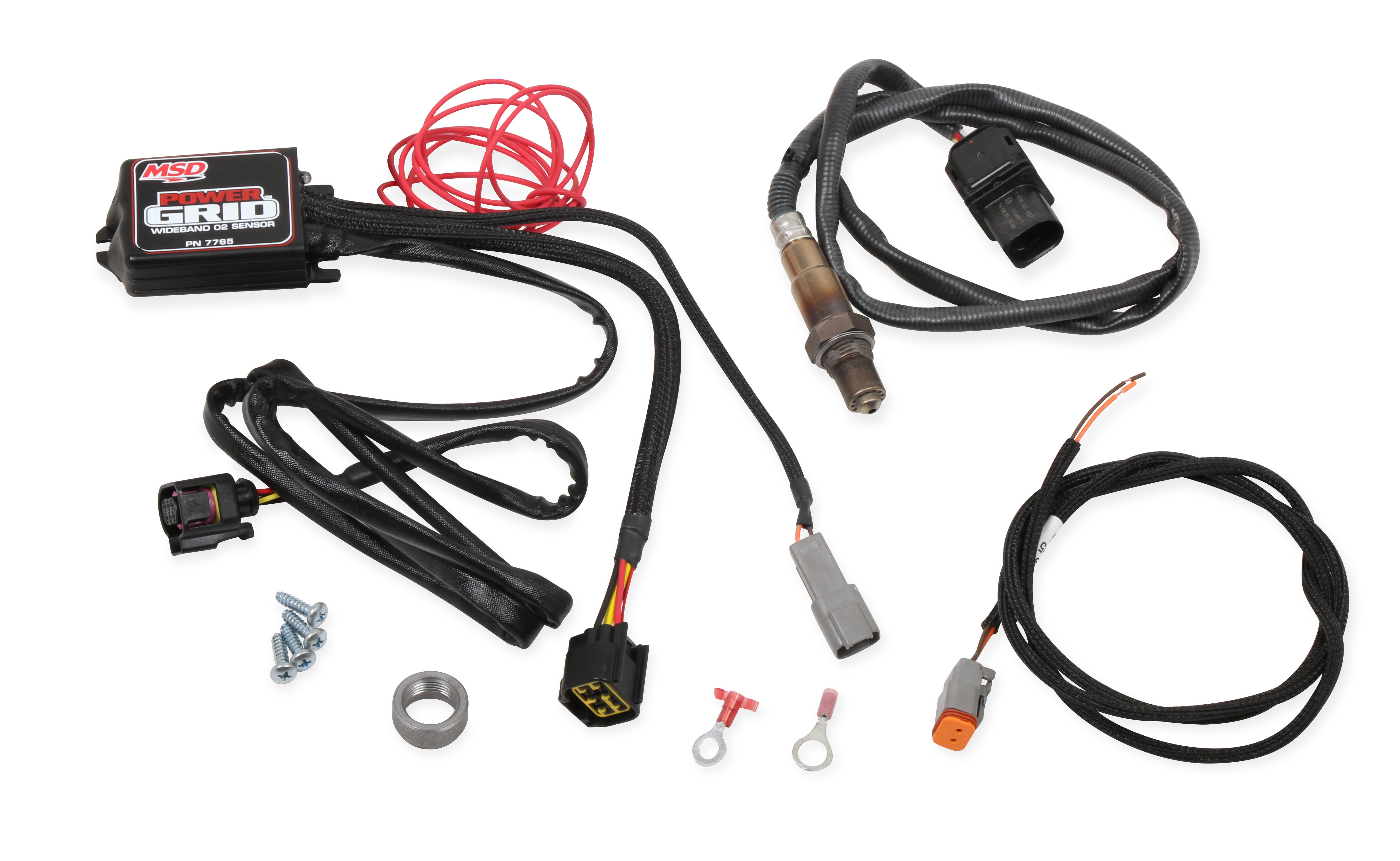 MSD Ignition 7765 Ignition Control Module, Power Grid Module, Wideband O2 Module, Programmable, MSD Distributors, Each