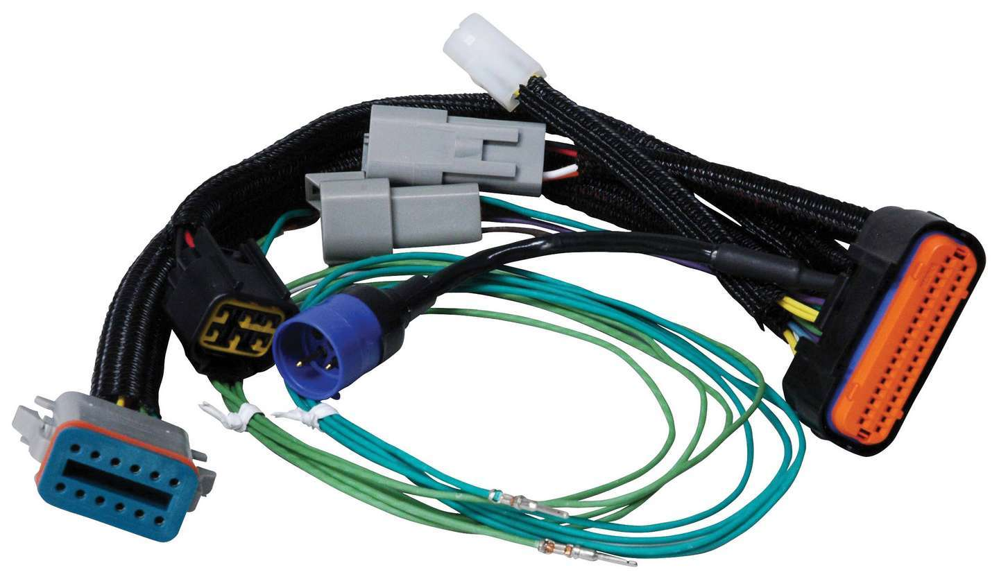 MSD Ignition 7789 Ignition Wiring Harness, MSD Power Grid to Digital-7 Programmable Harness, Each