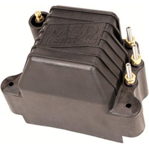 MSD Ignition 81423 Ignition Coil, Pro Mag 44, Magneto, Male HEI, 45000V, 44 amp, Black, Each