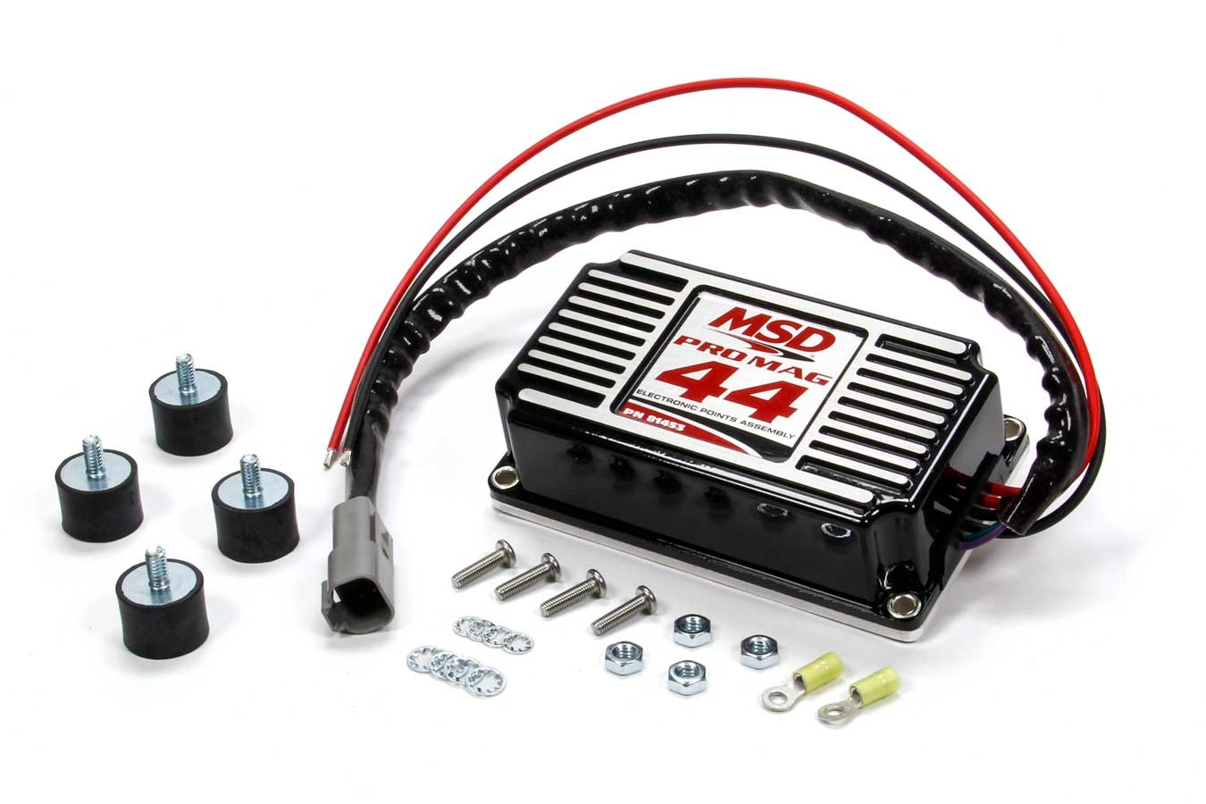 MSD Ignition 81453 Ignition Box, Pro Mag 44, Electronic Points Box, MSD Pro Mag 44, Black, Each