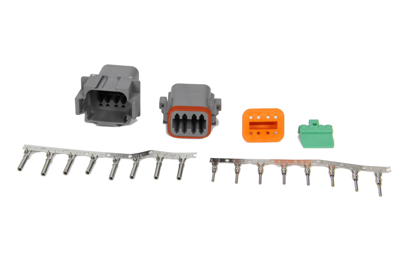 MSD Ignition 8185 Electrical Connector, Deutsch Connector, 8 Pin, 16 Gauge, Kit