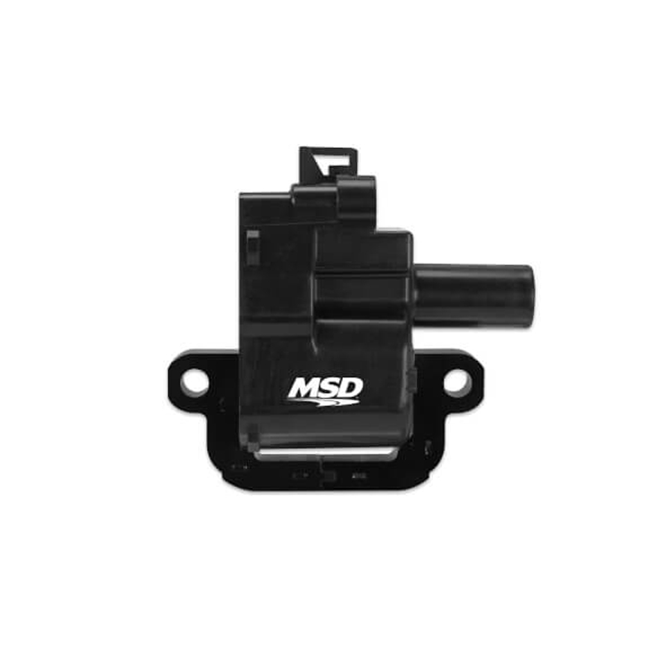 MSD Ignition 82623 Ignition Coil Pack, Blaster, Female Socket, Black, LS1 / LS6, GM LS-Series, Each