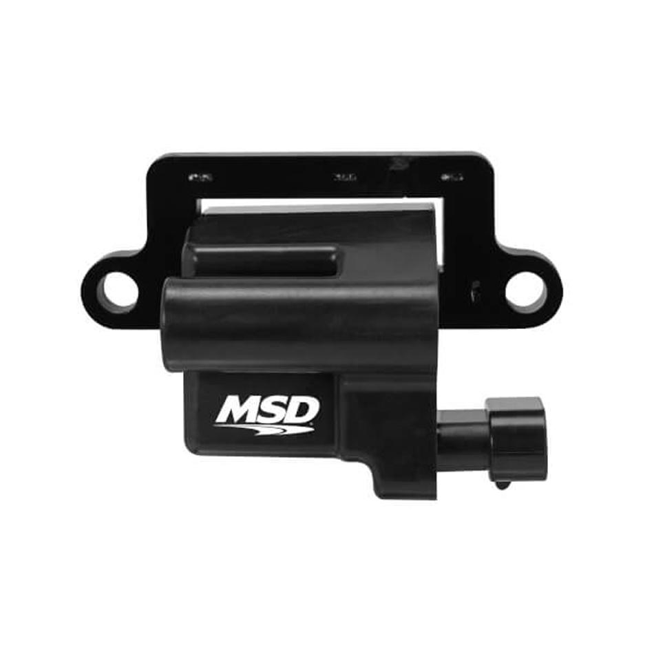 MSD Ignition 82643 Ignition Coil Pack, Blaster LS, Female Socket, Black, GM LS-Series, GM Fullsize Truck 1999-2009, Each