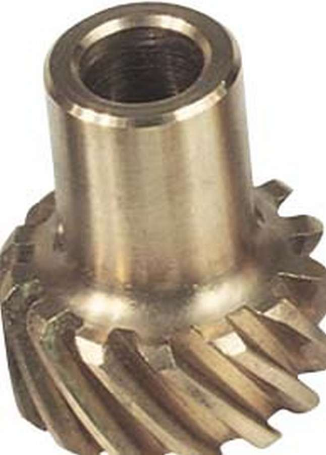 MSD Ignition 85631 Distributor Gear, 0.500 in Shaft, Bronze, Pontiac V8, Each