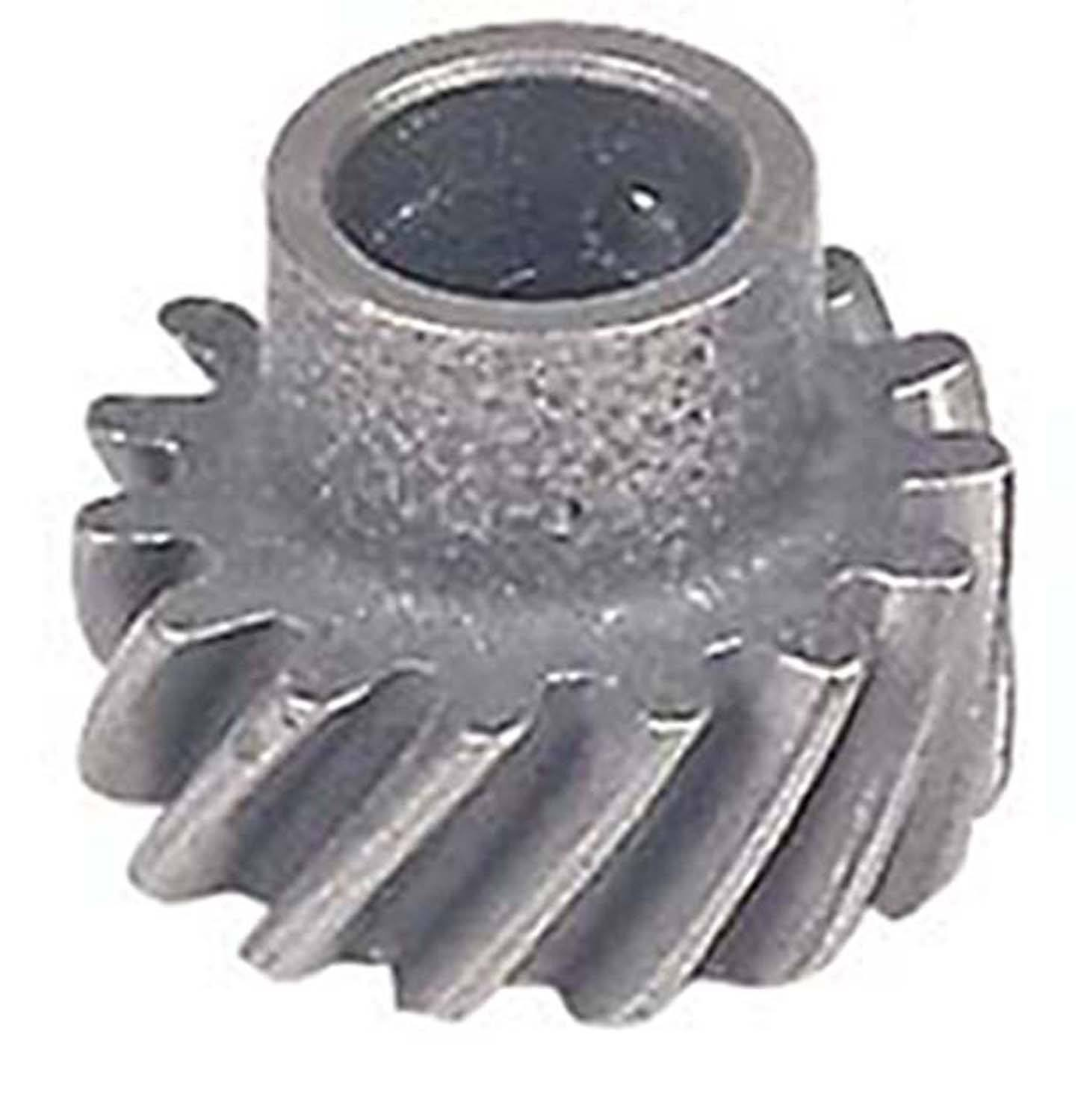 MSD Ignition 85813 Distributor Gear, 0.531 in Shaft, Steel, Big Block Ford / Cleveland / Modified, Each