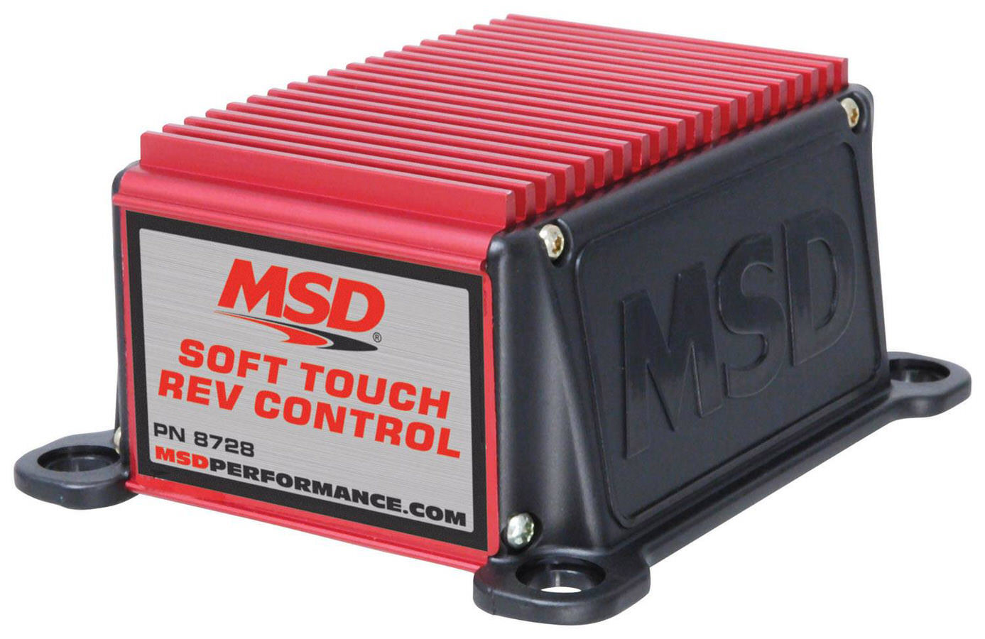 MSD Ignition 8728 Rev Limiter, Soft Touch Rev Control, Chip Adjustable, 6000 / 7000 / 8000 RPM Modules, Standard Points Ignition Systems, Each