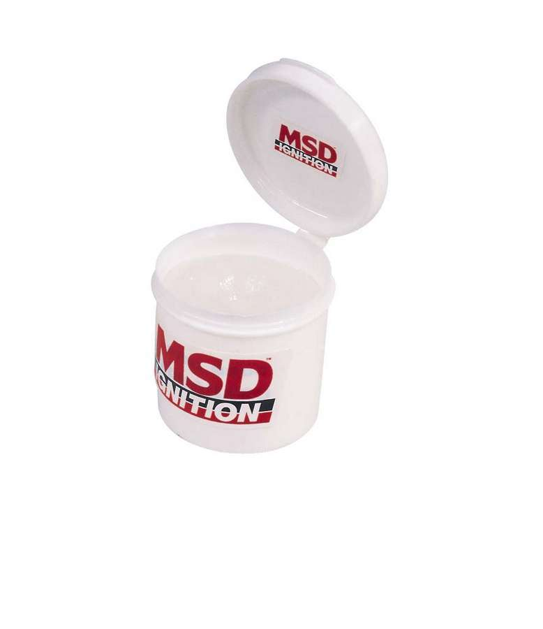 MSD Ignition 8804 Dielectric Grease, Spark Guard, 1/2 oz Tube, Each