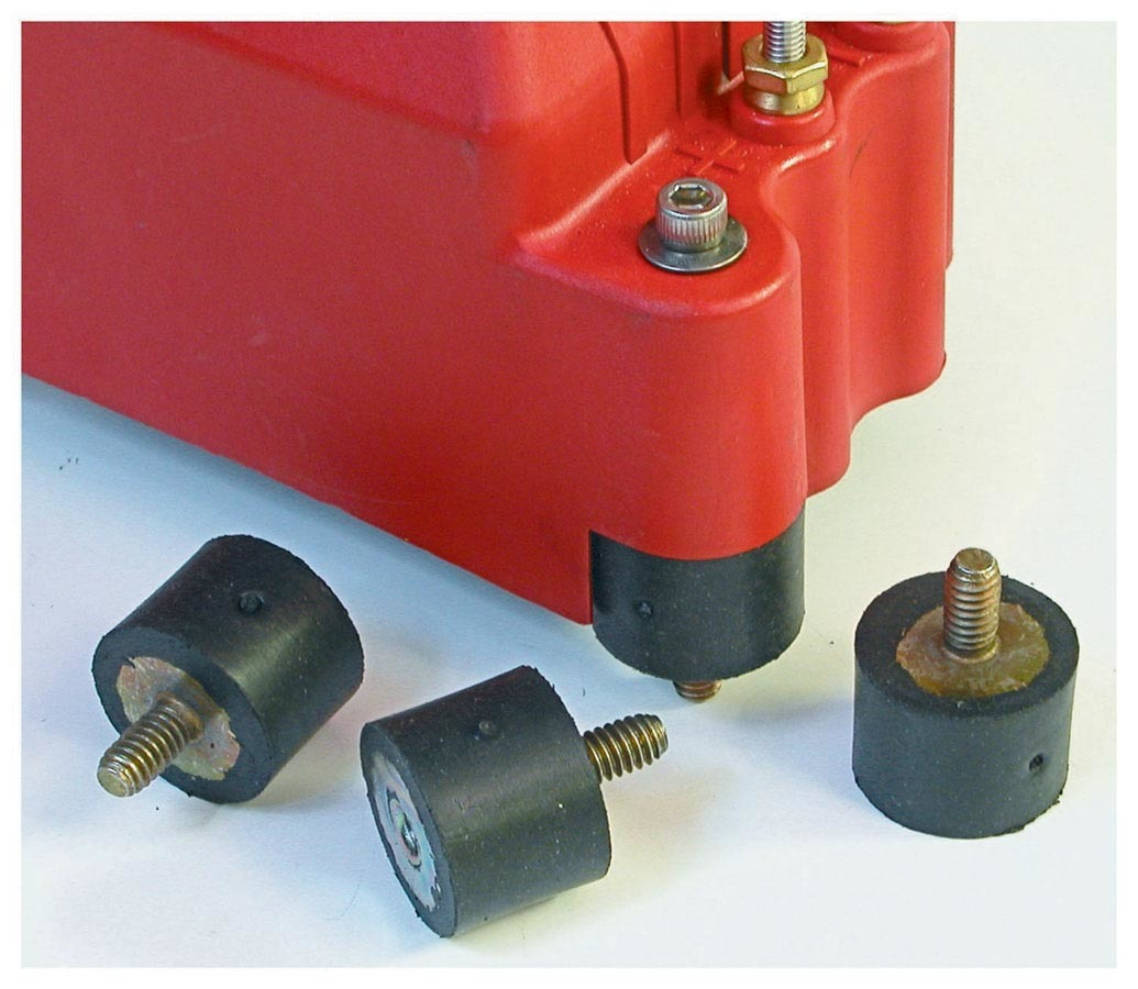 MSD Ignition 8825 Rubber Vibration Mounts MSD IGNITION