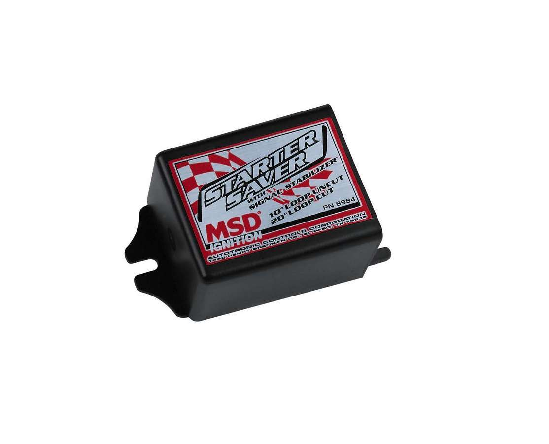 MSD Ignition 8984 Timing Controller, Starter Saver / Signal Stabilizer, 10 / 20 Degree Start Retard, Each