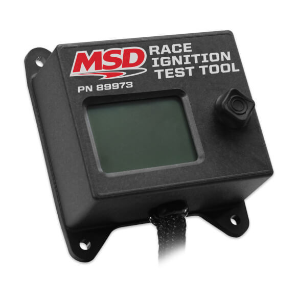 MSD Ignition 89973 Ignition Tester, Plug and Play, Test MSD Circle Track LS Ignition, Each