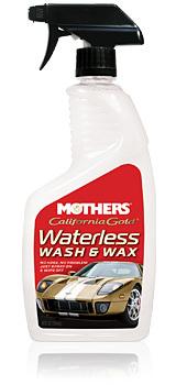California Gold Waterles Wash and Wax 24oz.