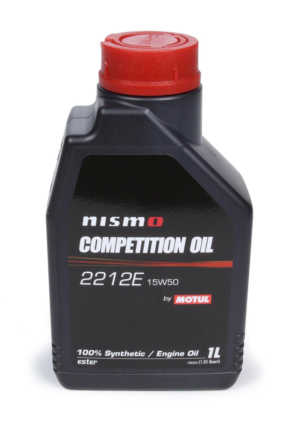 Motul 102500 Motor Oil, Nismo, 15W50, Synthetic, 1 L Bottle, Each