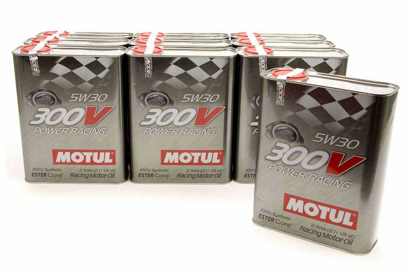 300V 5w30 Racing Oil Synthetic Case 10x2Liter