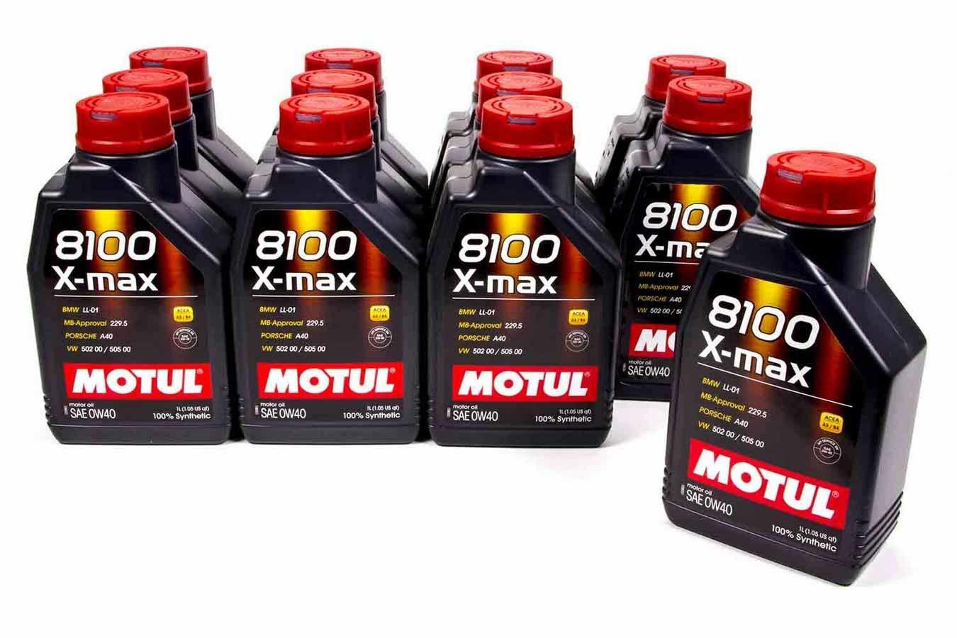 8100 0w40 X-Max Oil Case 12x1 Liter