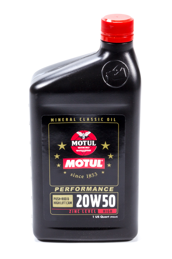 Classic Performance 20w50 1 Quart