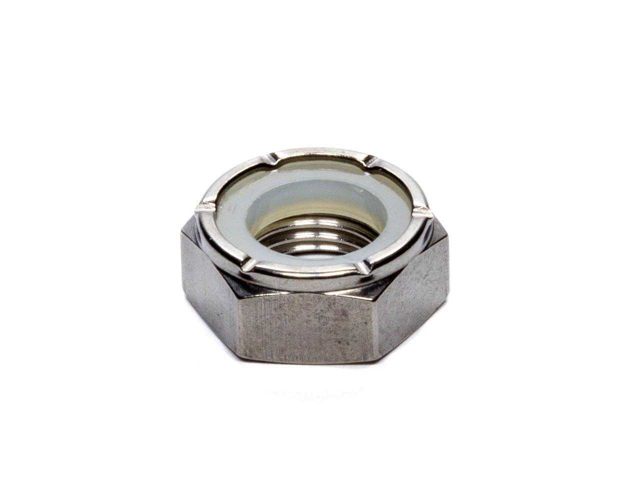 Mettec Titanium Hex Nylock Lock 1/2-20 Thin Head