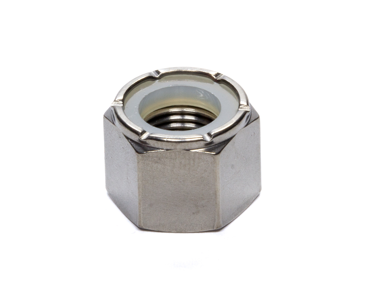 Mettec Titanium Hex Nylock Lock 1/2-20 Full Head