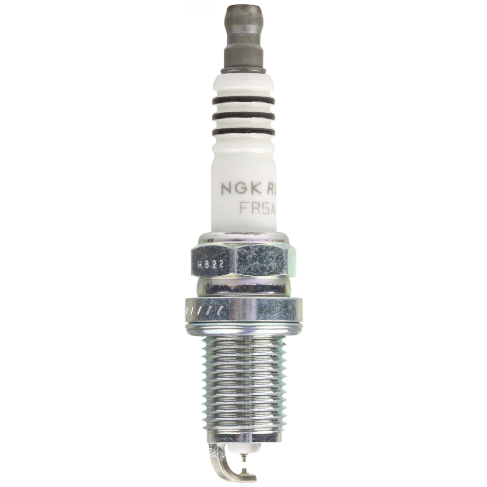 NGK FR5AHX-E Spark Plug, Ruthenium HX, 14 mm Thread, 0.750 in Reach, Gasket Seat, Stock Number 92375, Resistor, Each