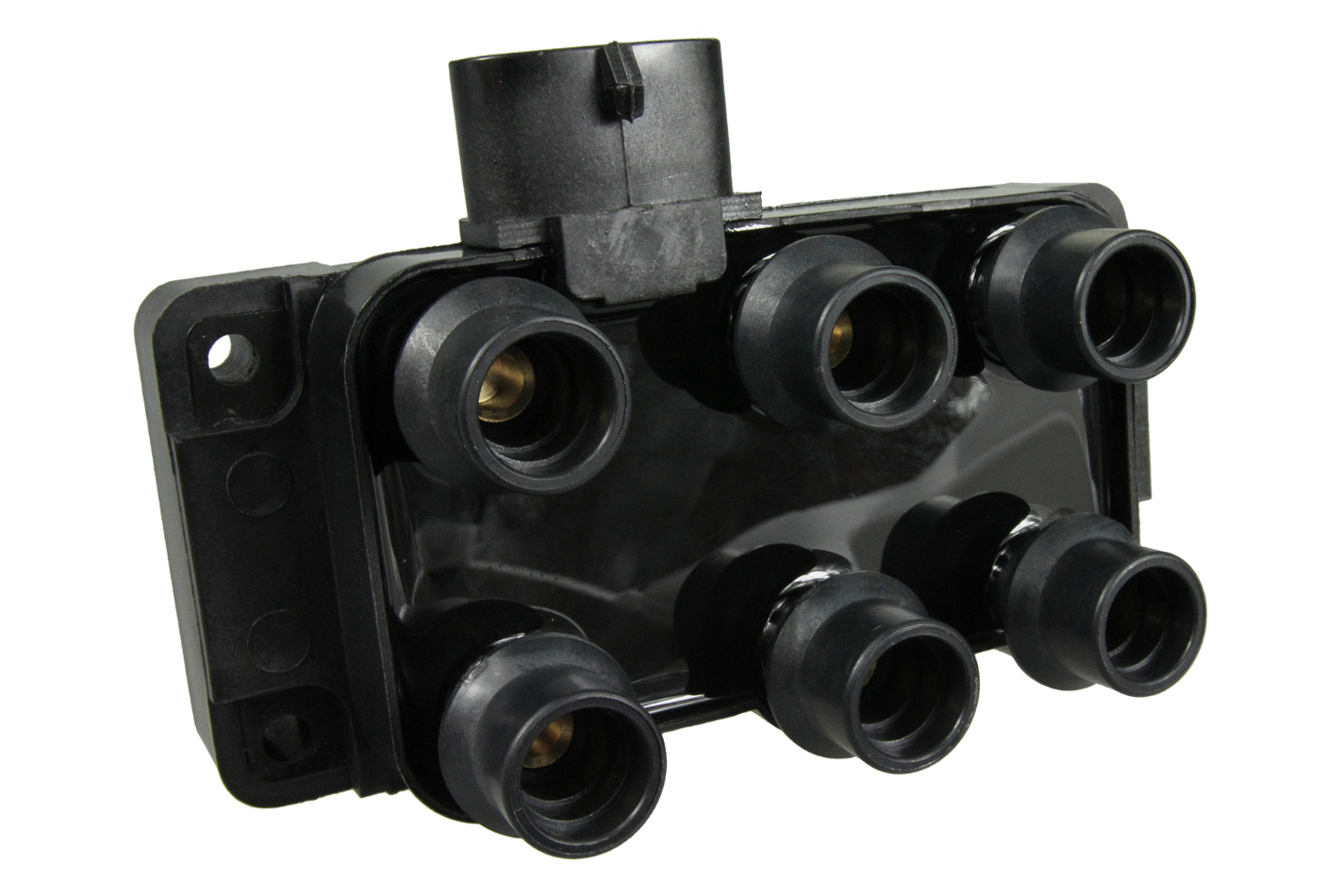 NGK U2029 Ignition Coil, Male HEI Style, Coil Pack, OE Specs, Black, Each