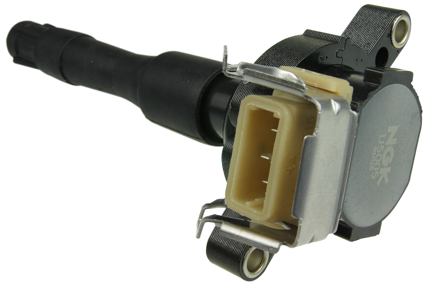 NGK U5005 Ignition Coil Pack, Coil-On-Plug, OE Specs, Black, Each