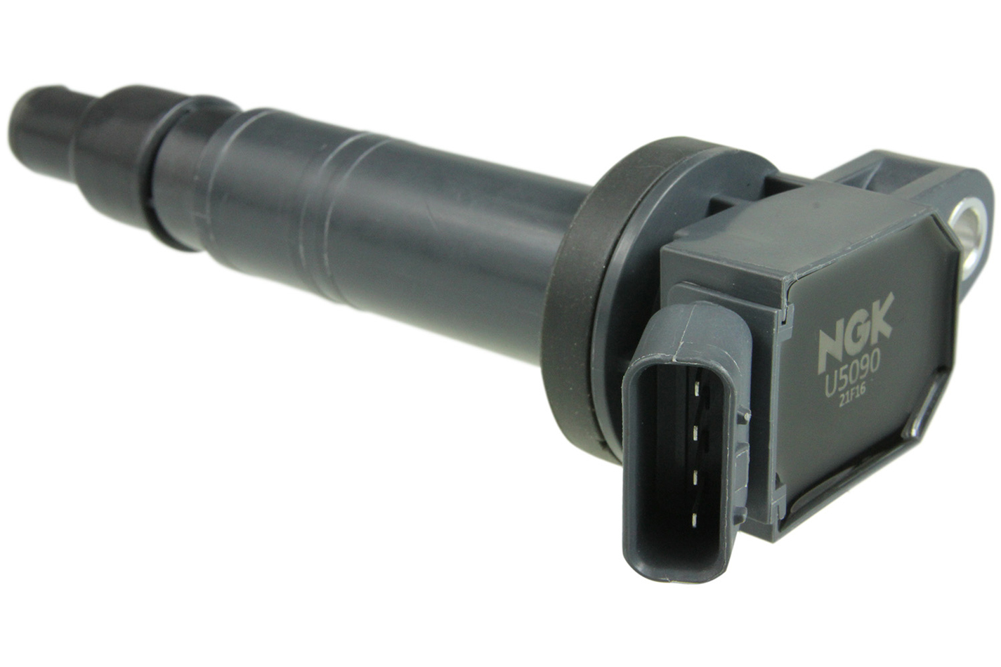 NGK U5090 Ignition Coil Pack, Coil-On-Plug Pencil Type, OE Specs, Black, Each
