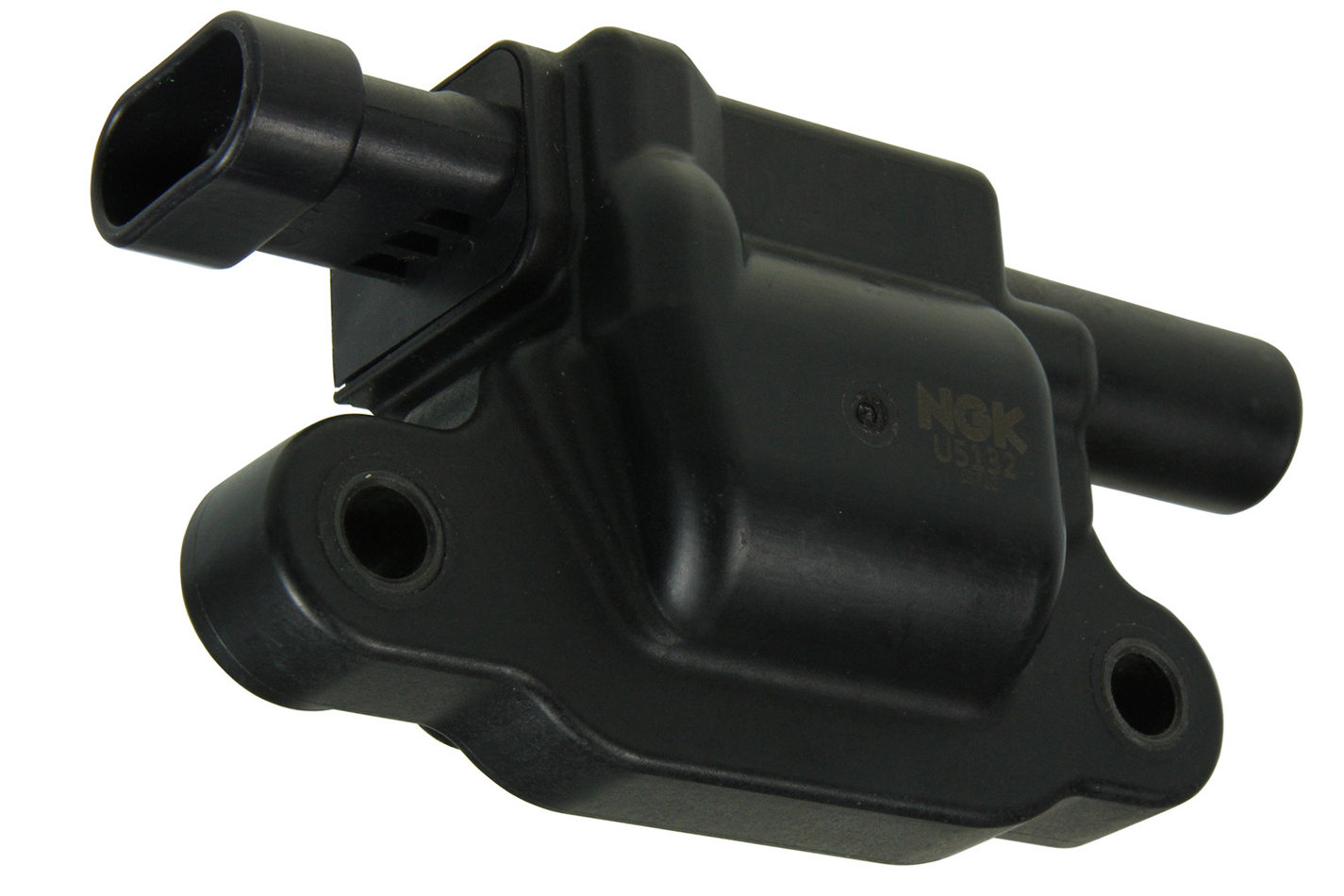 NGK U5132 Ignition Coil Pack, Coil-Near-Plug, OE Specs, Distributorless Ignition, Black, Each
