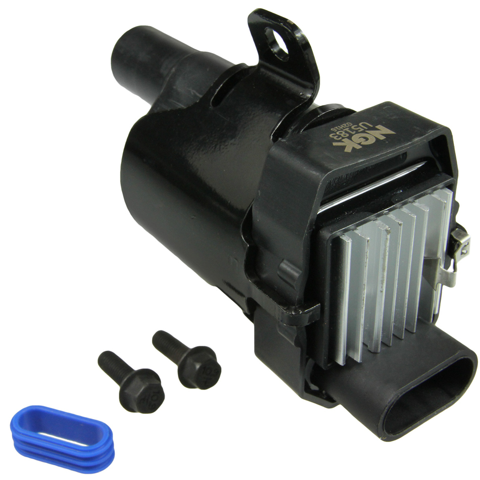 NGK U5183 Ignition Coil Pack, Coil-On-Plug, OE Specs, Black, Each