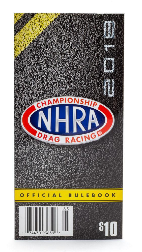 2018 NHRA Rule Book
