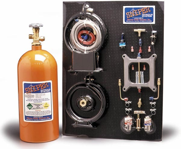 Sniper Nitrous System Holley 4-BBL