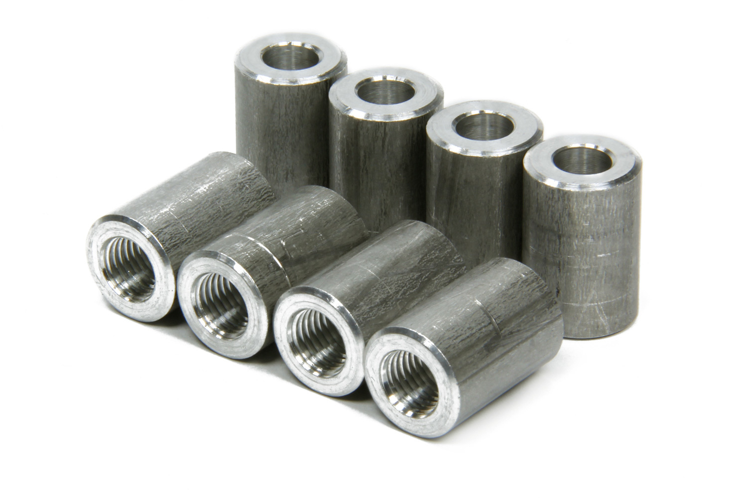 Nitrous Oxide Systems 17284 Bung, 1/16 in NPT Female, Weld-On, Aluminum, Natural, Nitrous Nozzle Fittings, Set of 8