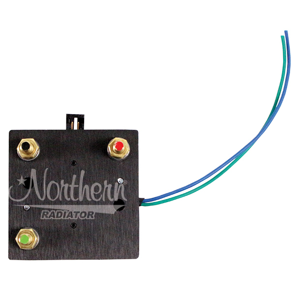 Northern Radiator Z18350 Temperature Switch, 180 Degree F On, 160 Degree F Off, Wiring Harness, Kit