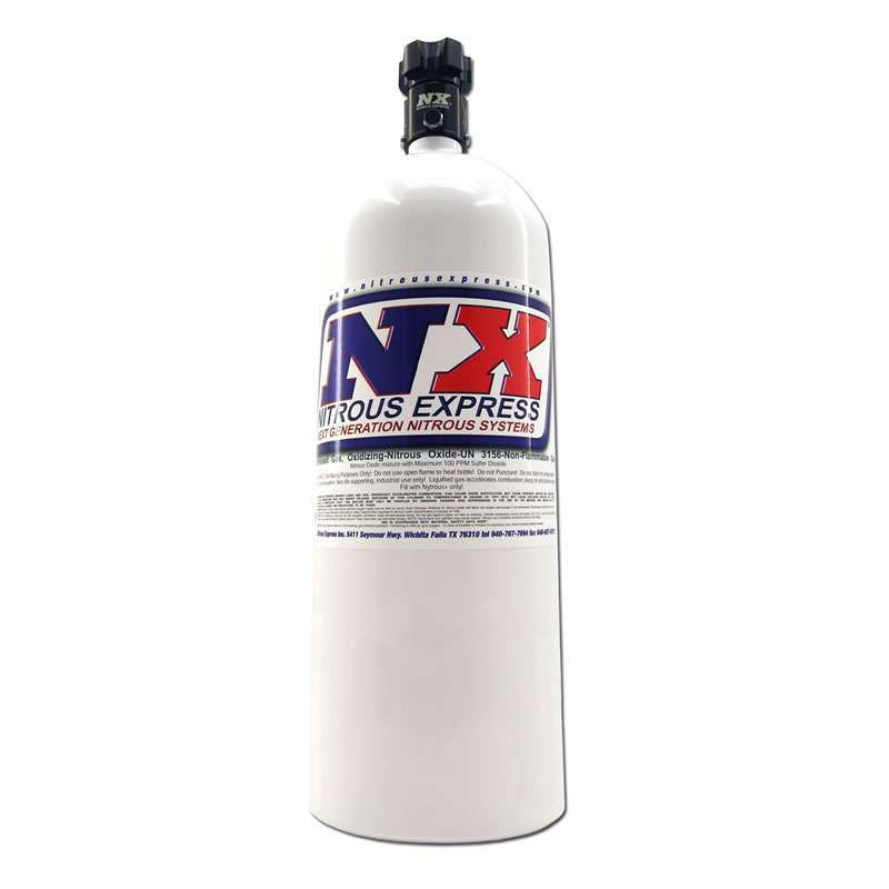 Nitrous Express 15lb. Nitrous Bottle - Std. PF Valve