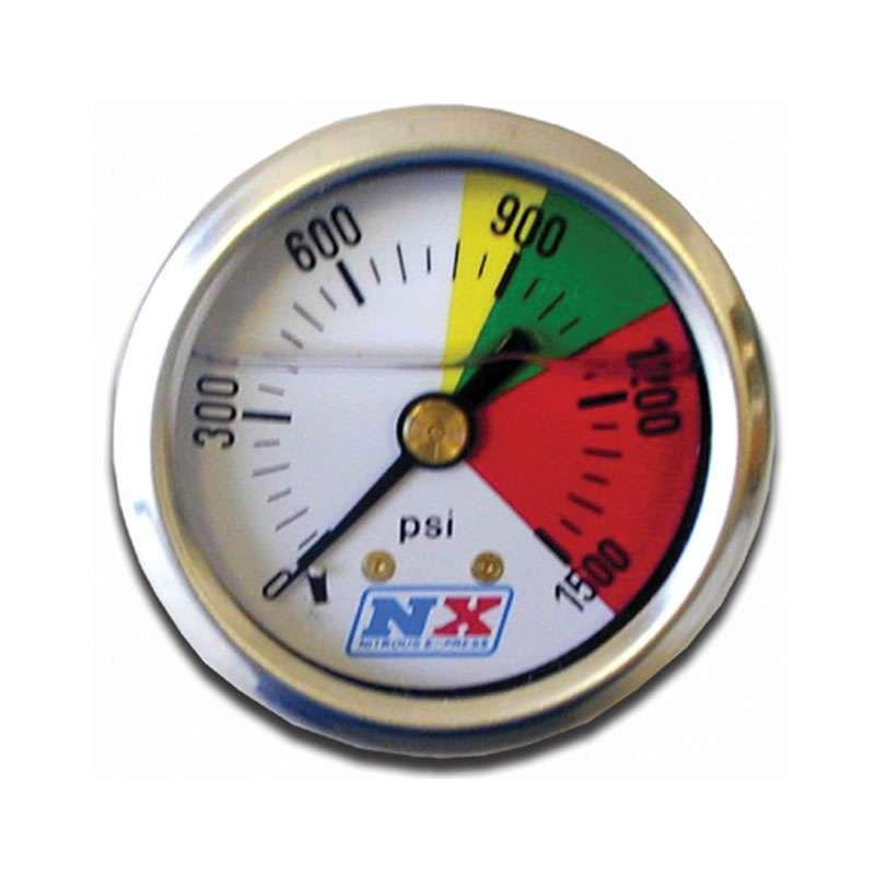 Nitrous Pressure Gauge 0-1500psi