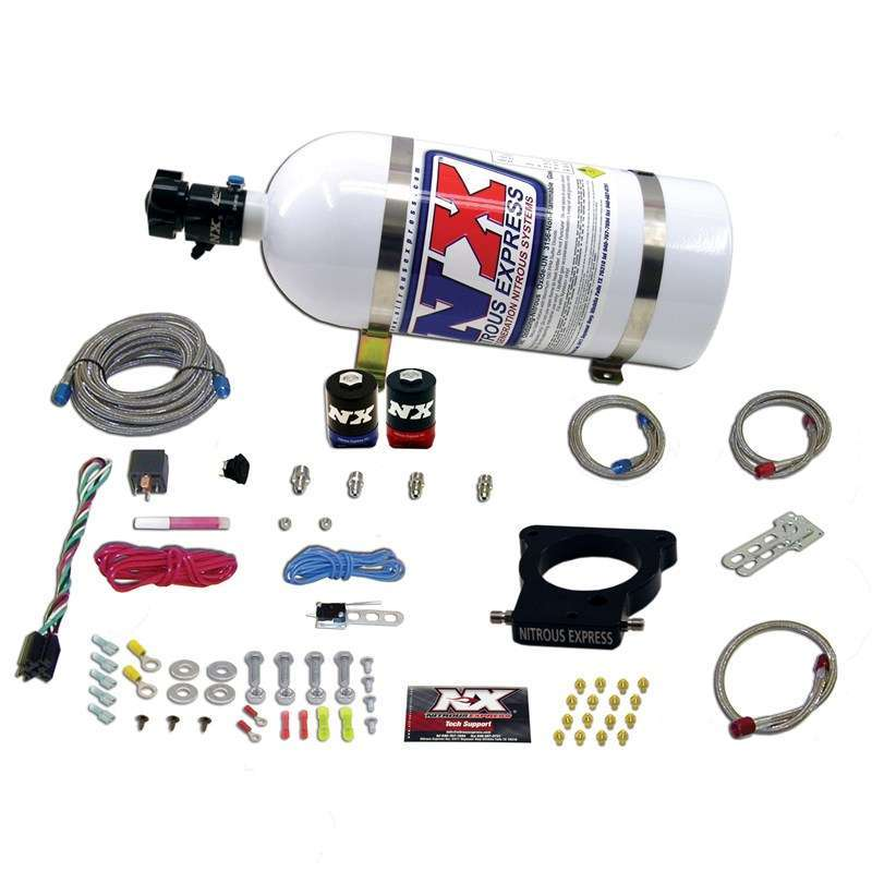 Nitrous Express EFI Plate Nitrous Kit - GM LS 3-Bolt Plate 78mm