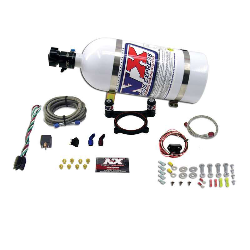 Nitrous Express EFI Plate Nitrous Kit - Ford 5.0 Coyote 35-200HP