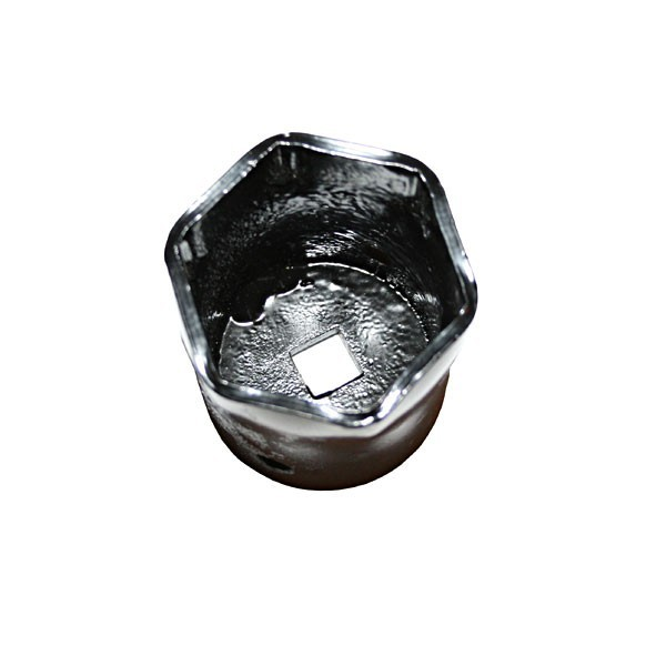 Omix-Ada 16711.01 Spindle Nut Socket, OE Replacement, 1/2 in Drive, Steel, Natural, 2-1/6 in Nut, Dana 25 / 27 / 30 / Axles, Willys MB / Jeep CJ 1941-86, Each