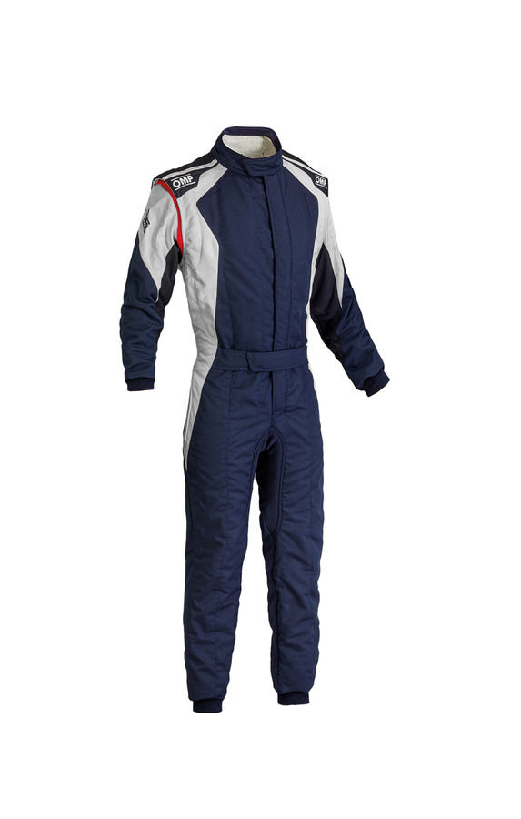 First Evo Suit Navy Blue /Silver 54 Medium / Lrg